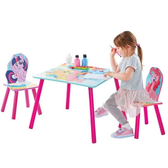 Worlds Apart Ensemble table et 2 chaises My Little Pony