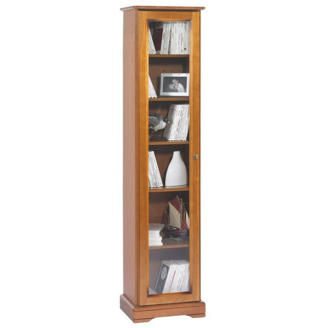 Beaux meubles pas chers biblioth que 1 grande porte vitr e gauche pas cher achat vente - Avis beaux meubles pas cher com ...