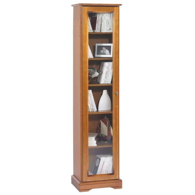 meuble biblioth que vitr e. Black Bedroom Furniture Sets. Home Design Ideas
