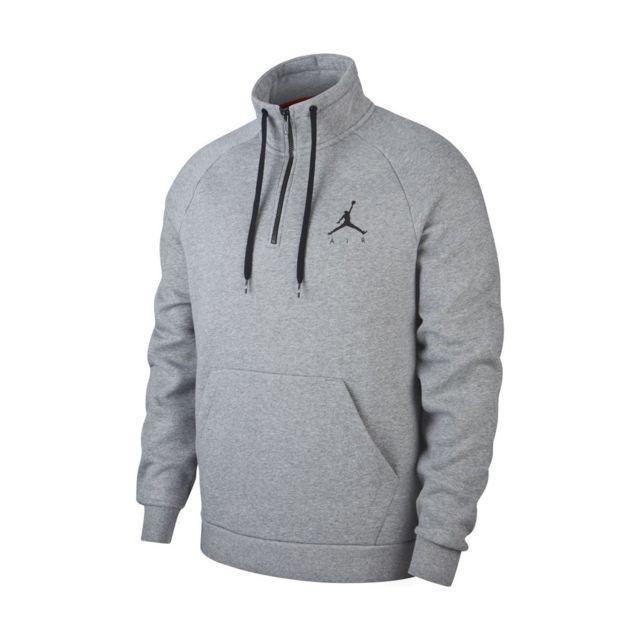 Jordan Sweat Jumpman Demi zip Av3143 091 pas cher