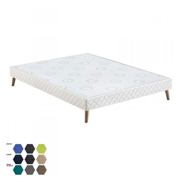cm sommier achat vente de cm pas cher. Black Bedroom Furniture Sets. Home Design Ideas
