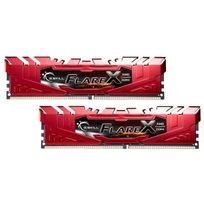 G.SKILL - Flare X 2 x 8 Go DDR4 2400 Mhz PC4-19200 1.2V rouge pour AMD Ryzen