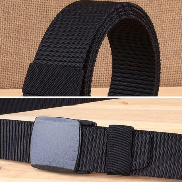 00d82f660d ... Wewoo - 3.8 cm large randonnée en plein air sport style décontracté  multifonctionnel ceinture en nylon ...
