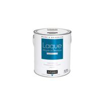 Apara - Laque alkyde brillante pour murs et boiseries-2.5 litres-Blanc