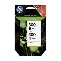 HP - Pack de cartouches d'encre Couleur + Noir compatible avec la gamme Deskjet