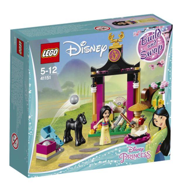 DISNEY JUNIOR LEGO® Disney Princess™ - L'entraînement de Mulan - 41151