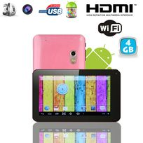 Tablette tactile Android 4.2 Jelly Bean 7 pouces Pearl Rose 4 Go
