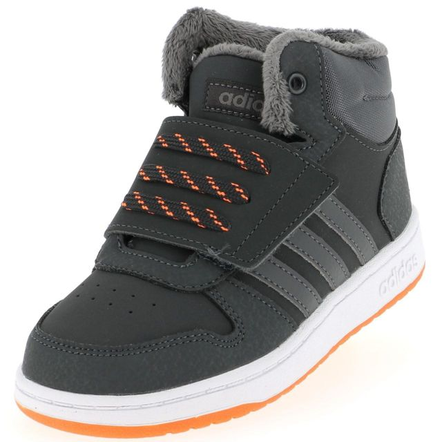 Adidas Chaussures scratch Hoops mid 2 nr baby Noir 49303