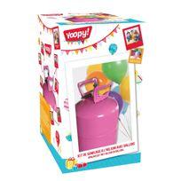 Yoopy - Kit de gonflage à l'hélium avec ballons