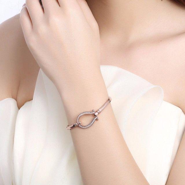 bracelet femme fer a cheval