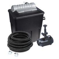 Hozelock - Kit de filtration bassin 8000 complet avec pompe, filtre, Uv, tuyau