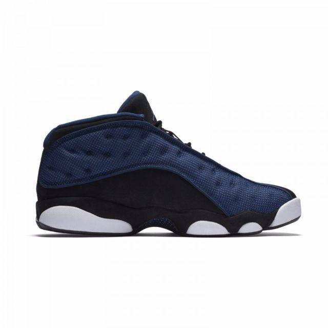 Nike Basket Air Jordan 13 Retro Low 310810 407 Noir 40