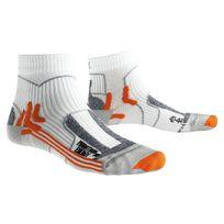 X-socks - Xsocks Marathon Energy Blanche Chaussettes Running Xsocks