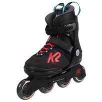 K2 - Rollers Velocity jr reglable Noir 15186