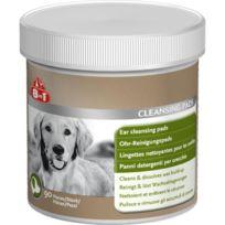 8in1 - Lingettes nettoyantes oreilles pour chien