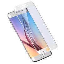 Cabling - Samsung Galaxy S6 Edge - Protection d'écran en verre trempé, Qualité Premium incurvé Film protecteur d'écran pour Samsung Galaxy S6 Edge BLANC, S6 Edge blanc - S6 edge Blanc