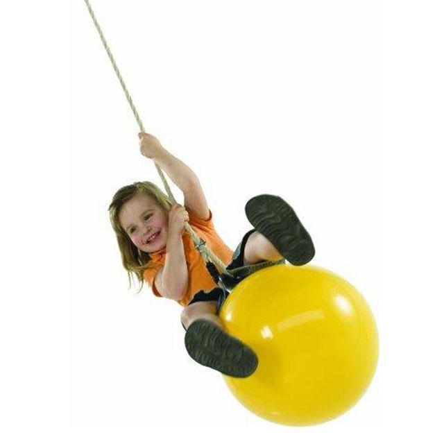 Chalet & Jardin Ballon jaune pour balançoire