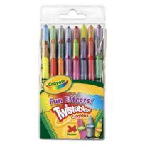Vivid Imaginations - Crayola - 24 Crayons À Effets SpÉCIAUX Twistables