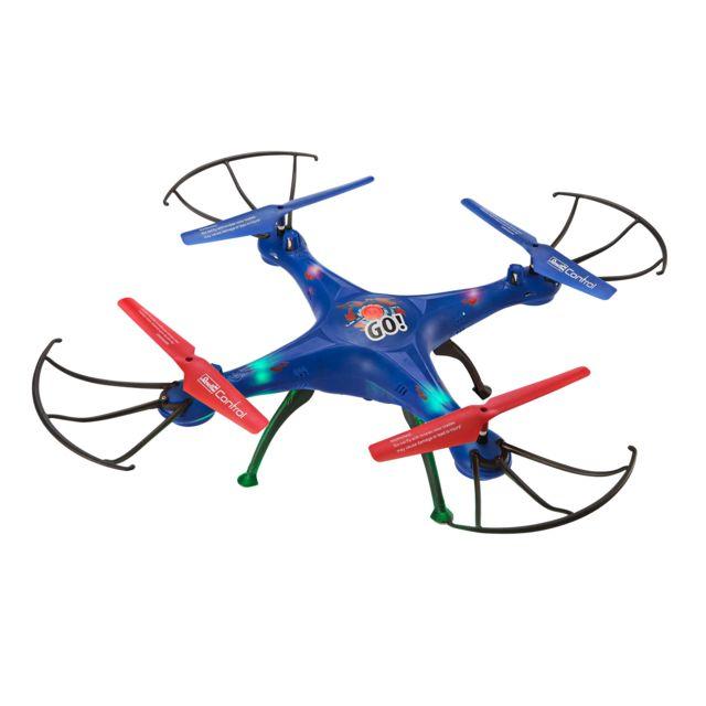 """REVELL Quadcoptère """"GO Quadrocoptère pour débutant de 31 cm !!! Fonctions flips, headless, gyroscope 6 aces et 3 sensibilités de vol. Led animés."""