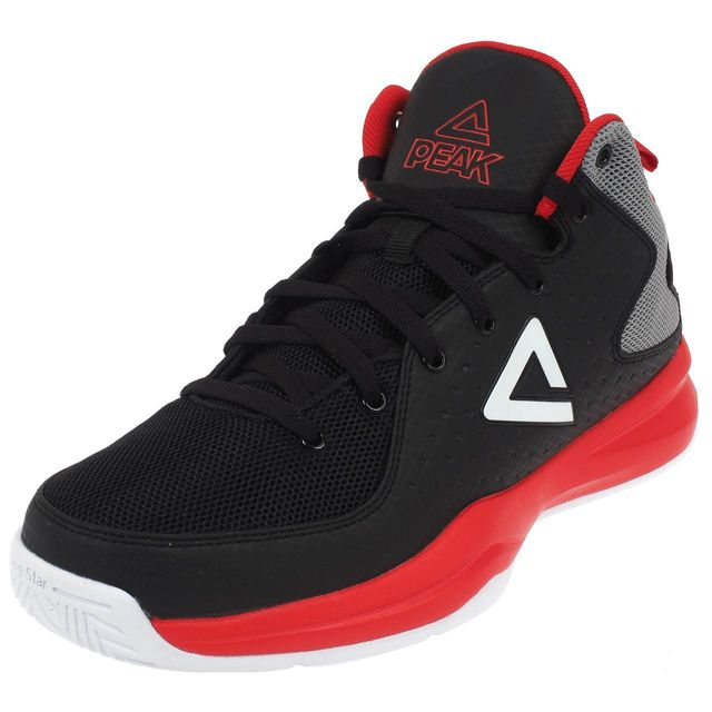 peak chaussures basket thunder noir rge basket noir 75392 pas cher achat vente chaussures. Black Bedroom Furniture Sets. Home Design Ideas