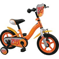 "TOP BIKE - Vélo Kids 12"" - Orange - OD92610"