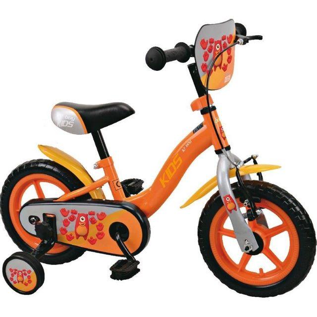 top bike v lo kids 12 orange od92610 pas cher achat vente v hicule p dales. Black Bedroom Furniture Sets. Home Design Ideas