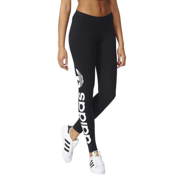 Adidas originals - Corsaire Legging Linear - pas cher Achat   Vente  Pantalon femme - RueDuCommerce 644954a29b9