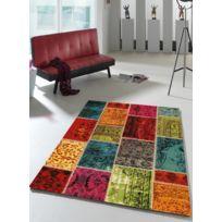 UN AMOUR DE TAPIS - Tapis PATCHAWORKA Tapis Moderne par Unamourdetapis Multicolore 60 x 110 cm
