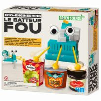 4M - Kidz Labs - Kit de fabrication Green Science : Le Batteur Fou