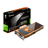 GIGABYTE - GeForce GTX 1080Ti AORUS waterforce Extreme édition 11 Go