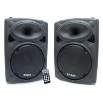 Ibiza Sound - Enceinte amplifiée 400W + enceinte passive 350W