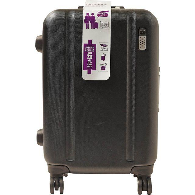 CARREFOUR - VIP - Valise Polycarbonate - 4 roues - 57 cm - Noir - PC11601-56CM-BLK 43