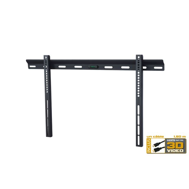 Inotek - Wmb3260HD - Support Mural Fixe pour Tv Lcd LED PLASMA de 32  -60  +Cable  Hdmi - pas cher Achat   Vente Support mural - RueDuCommerce 638f14824e76
