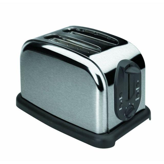 lacor grille pain automatique inox deux tranches 1000w grille pain pas cher achat. Black Bedroom Furniture Sets. Home Design Ideas