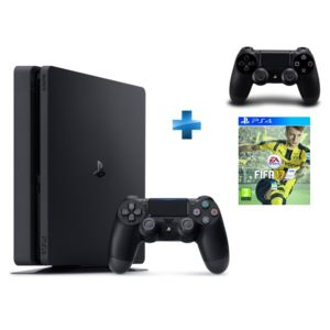 sony nouvelle ps4 1 to fifa 17 2 me manette pas. Black Bedroom Furniture Sets. Home Design Ideas