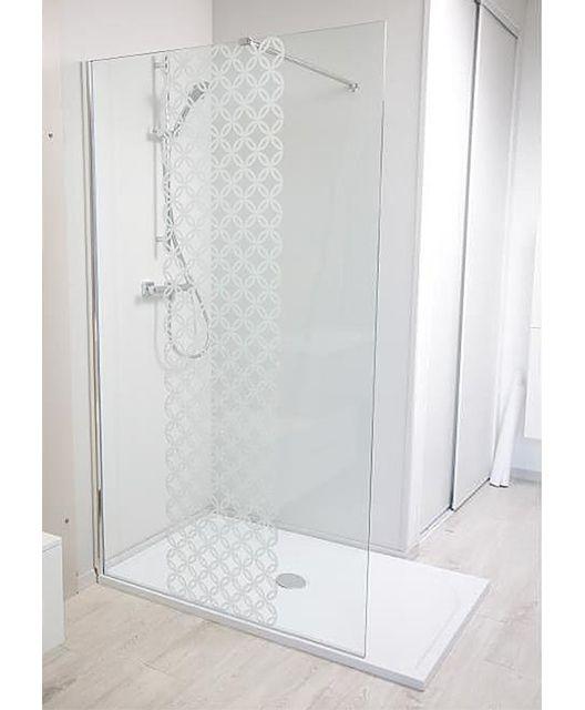 Evidence - Paroi douche italienne sérigraphiée 100 cm Alita - pas ... 5b890e4669ef