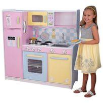 Kidkraft - Grande cuisine enfant pastel