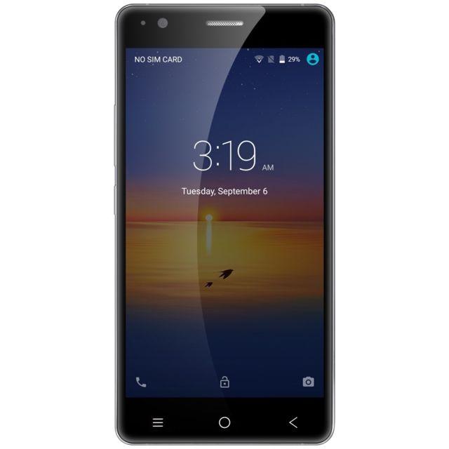 Auto-hightech Smartphone quad core 3G 5.0 pouces Bluetooth 4.0 avec android 5.1 - Noir