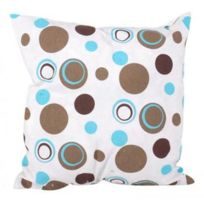 Fornord - Coussin ''bulles Taupes'' 40 x 40 cm