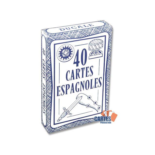Poker Production - Jeu de 40 cartes : Ducale Espagnoles