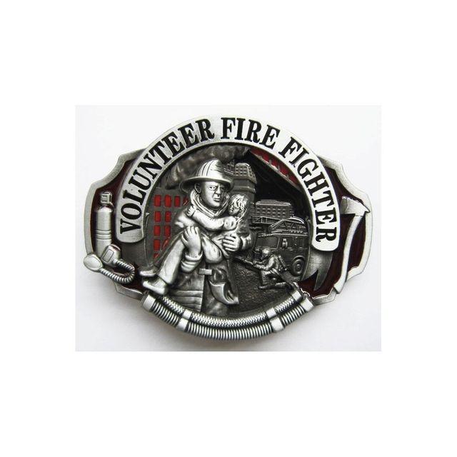 4bc189bfd5b4 Universel Boucle de ceinture pompier volontaire et enfant homme femme