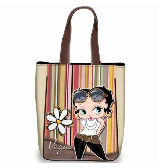 63a2ff8d4c Betty Boop - Grand sac shopping Vogue - pas cher Achat / Vente Cabas ...