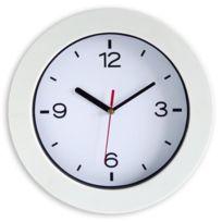 Aucune - Horloge a piles Easyclock 25 cm blanc