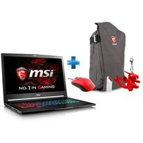 MSI - GS73VR 7RF-252FR Stealth Pro - Noir + Pack GS : Sac à dos + Porte-clé Dragon + Souris Gaming + I-Key
