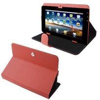 Yonis - Housse universelle tablette tactile 10.1 pouces support étui Rouge