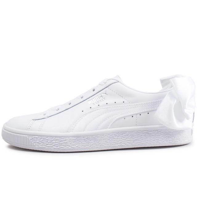 baskets blanches femme puma