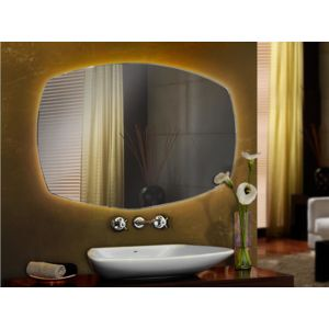 schuller miroir design avec lumiere led arriere pour. Black Bedroom Furniture Sets. Home Design Ideas