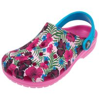 Crocs - Sabots Classic graphic pink Rose 12347
