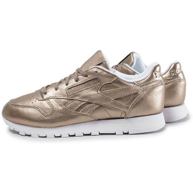 79e6c707222c Reebok - Classic Leather W Melted Metals Or - pas cher Achat / Vente ...