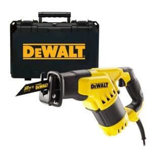 dewalt dwe357k scie sabre 1050w avec coffret pas cher achat vente scies sabres go nes. Black Bedroom Furniture Sets. Home Design Ideas